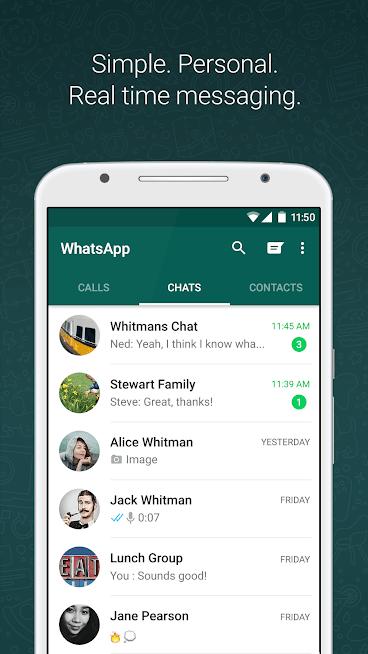 """دانلود WhatsApp Messenger 2.21.9.15 – آپدیت جدید برنامه """"واتساپ"""" اندروید"""