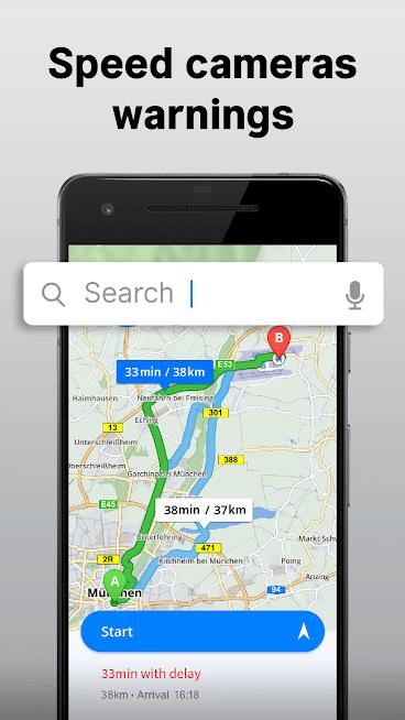 """دانلود Offline Maps & Navigation 18.4.2 – برنامه """"نقشه ها و مسیریابی آفلاین"""" اندروید"""
