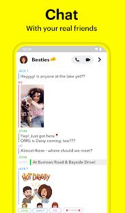 """دانلود Snapchat 10.78.6.0 – برنامه """"اسنپ چت"""" اندروید"""