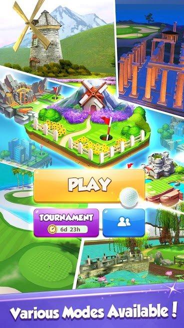"""دانلود Golf Rival 2.22.1 – بازی آنلاین """"رقابت گلف"""" اندروید"""