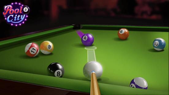 """دانلود Billiards City 2.14 – بازی """"شهر بیلیارد"""" اندروید"""