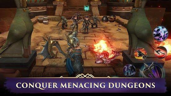 """دانلود Darkness Rises 1.39.0 – بازی آنلاین """"ظهور تاریکی"""" اندروید"""
