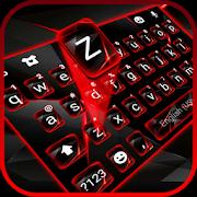 دانلود Red Tech Keyboard Theme 1.0 – تم قرمز کیبورد برای اندروید