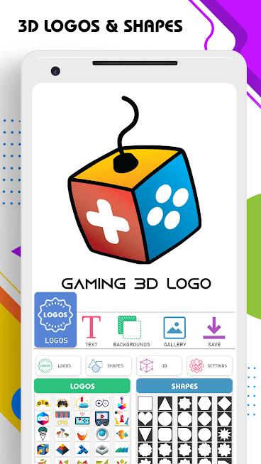 دانلود 3D Logo Maker 1.3.0 – برنامه ساخت لوگو سه بعدی برای اندروید