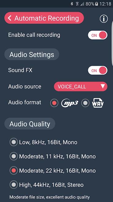 """دانلود Automatic Call Recorder CallX 8.8 – برنامه ضبط خودکار تماس """"کال ایکس"""" اندروید"""