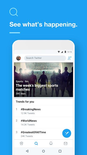 """دانلود Twitter 7.93.4 – آپدیت جدید برنامه """"توییتر"""" برای اندروید"""