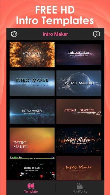 """دانلود Intro Maker 3.7.1 – برنامه ساخت اینترو """" اینترو میکر"""" اندروید"""