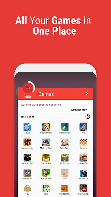 """دانلود Game Booster 4526 – برنامه افزایش سرعت بازی """"گیم بوستر"""" اندروید"""