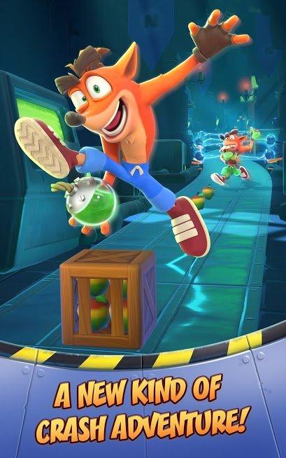 """دانلود Crash Bandicoot 0.40.9 – بازی جذاب """"کراش"""" برای اندروید"""