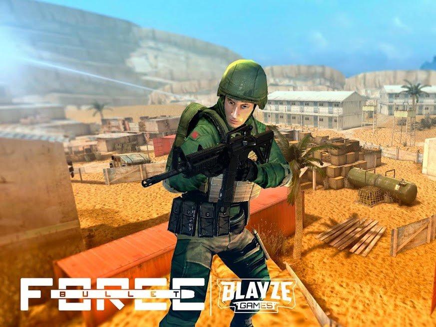 """دانلود Bullet Force MOD 1.78.0 – بازی اکشن """"قدرت گلوله"""" برای اندروید"""