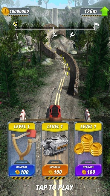 """دانلود Slingshot Stunt Driver 1.9.5 – بازی """"راننده تیرکمانی"""" اندروید"""
