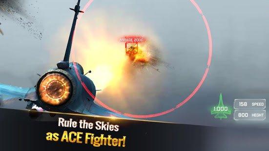 """دانلود Ace Fighter 2.61 – بازی اکشن جت جنگی """"اولین مبارز"""" برای اندروید"""