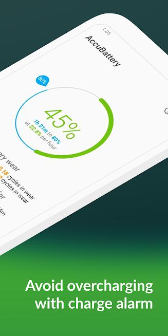 دانلود AccuBattery 1.4.4 – برنامه محافظ سلامت باتری برای اندروید