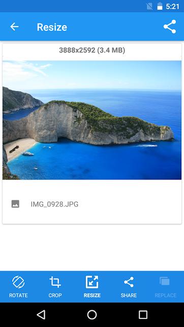 دانلود Photo Resizer 1.0.297 – برنامه تغییر اندازه عکس اندروید