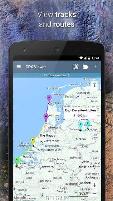 دانلود GPX Viewer 1.38.9 – برنامه مکان یاب کوهنوردی برای اندروید