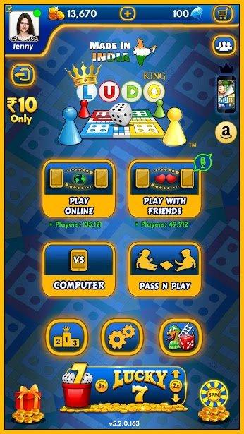 دانلود Ludo King 6.2.0.192 – بازی لودو کینگ برای اندروید