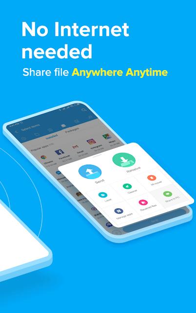"""دانلود ShareMe 1.29.17 – برنامه انتقال فایل """"شیرمی"""" برای اندروید"""