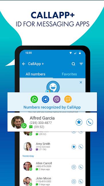 """دانلود CallApp 1.834 – برنامه شناسایی تماس گیرنده """"کال اپ"""" برای اندروید"""